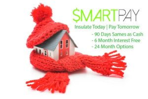 SmartPay Financing for Insulation Installation